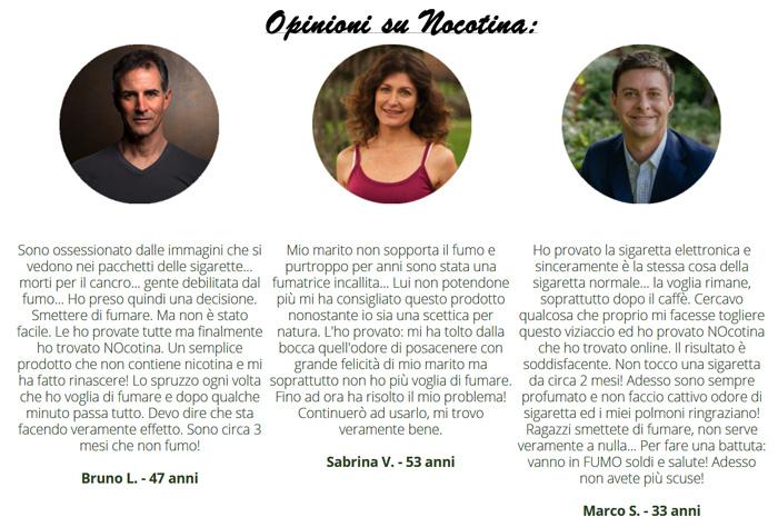 Opinioni su Nocotina