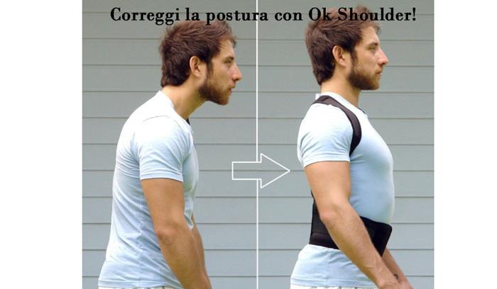 Come funziona la fascia posturale OK Shoulder