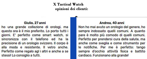 Pareri su X Tactical Watch V3