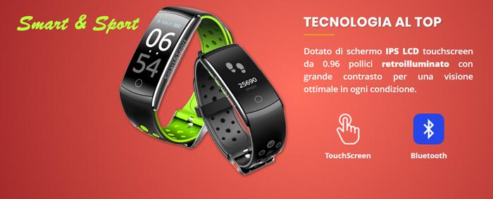 Smart Watch Smart e Sport