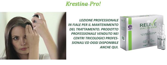 Trattamento per capelli Krestina Pro