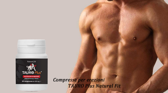 Compresse Tauro Plus della Natural Fit
