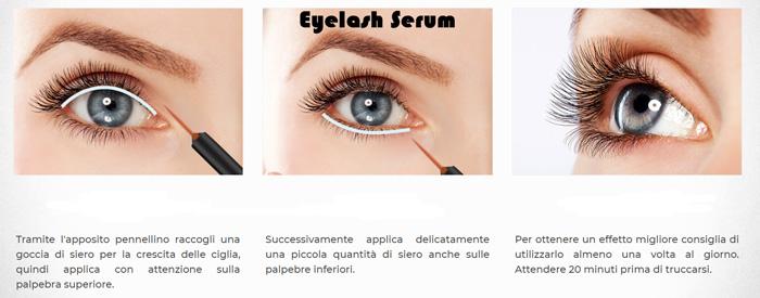 Come funziona Eyelash Serum