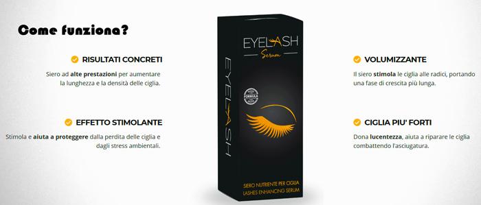 Eyelash per far crescere le ciglia
