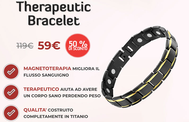 Costo di Therapeutic Bracelet