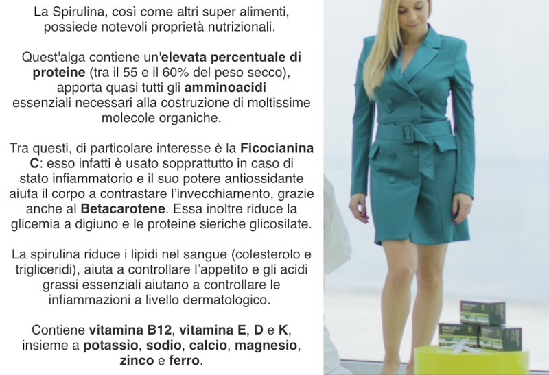 Ingredienti di Spirulina MultiACT